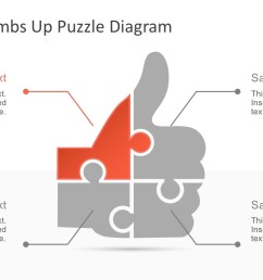 download free thumbs up puzzle powerpoint diagram [ 1280 x 720 Pixel ]