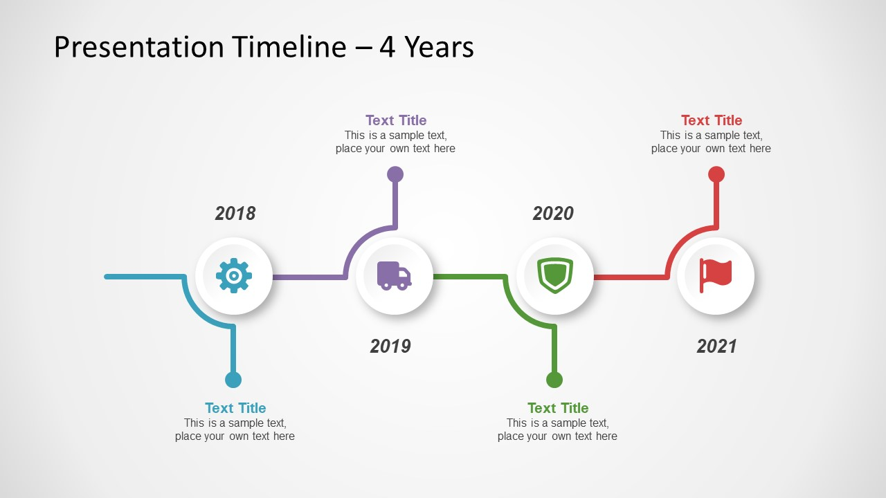 free timeline template for