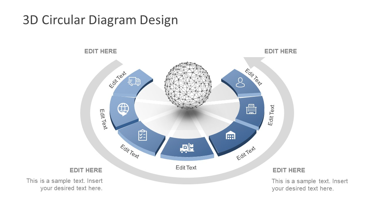 hight resolution of design of 3d core diagram layout