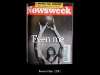Newsweek Cover November 1991