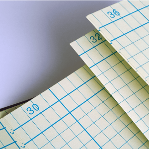 Notebook page numbers