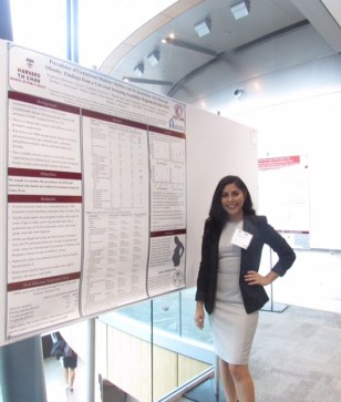 MIRT 2016 Fellow Stephanie Martinez at the New England Science Symposium