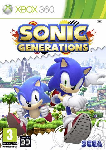 Sonic Generations Xbox 360   - Sonic Generations (Region Free) XBOX 360