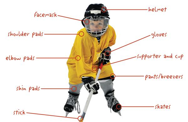 hockey player diagram hpm dimmer switch wiring parents guide to buying equipment adm kids