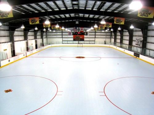 small resolution of boch ice center hockey rink outside boston in dedham
