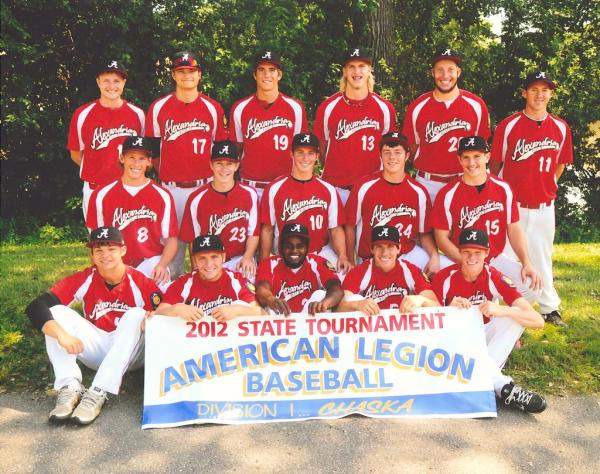 Alexandria Baseball Team