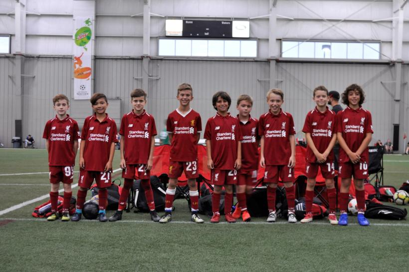 2018 Reds Invitational U10 Boys Champions Liverpool 09 Fowler