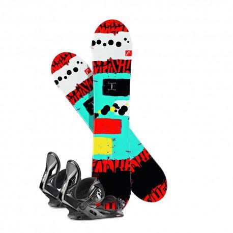 Snowboard Head Rowdy JR 2018 + Bindings - _ignore