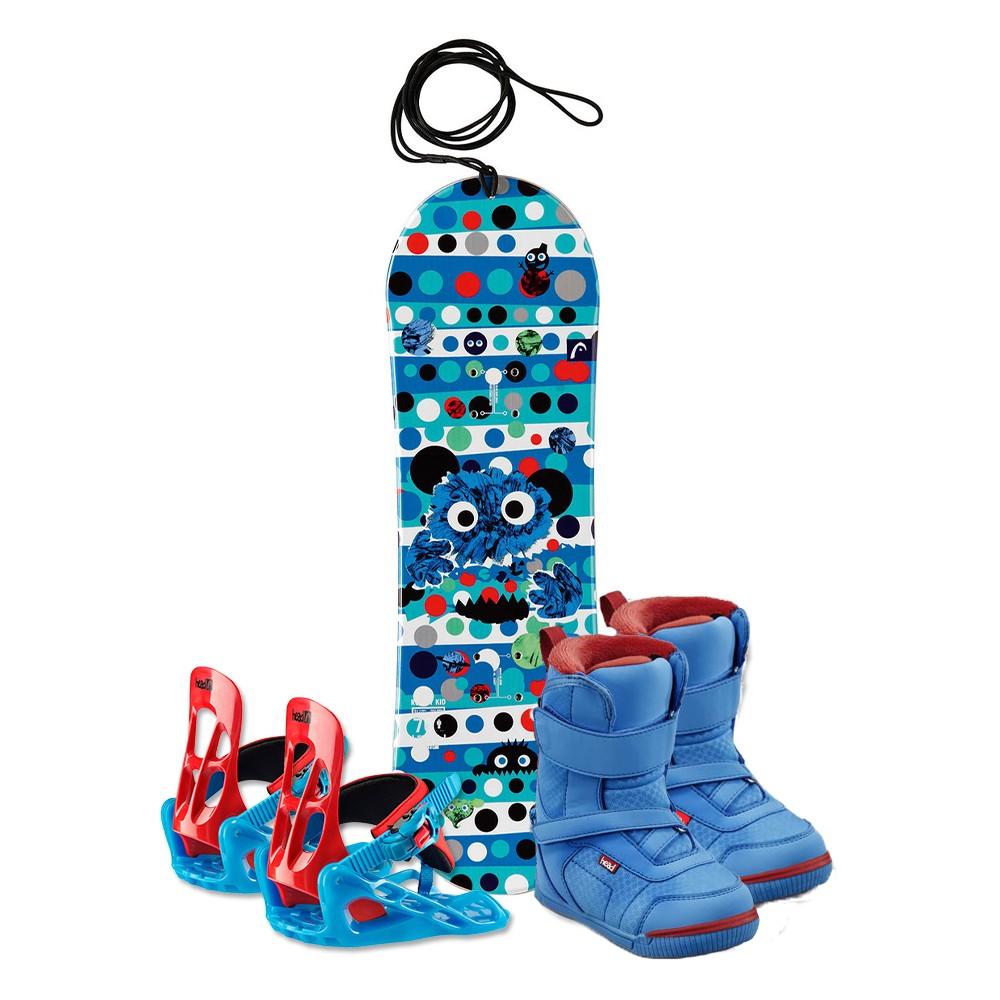 Snowboard Head Rowdy Kid 2018 + Bindungen + Boots - Head