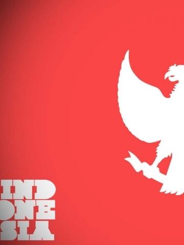 Ed Hardy Iphone Wallpaper Indonesia Flag Half Wallpaper Iphone Blackberry