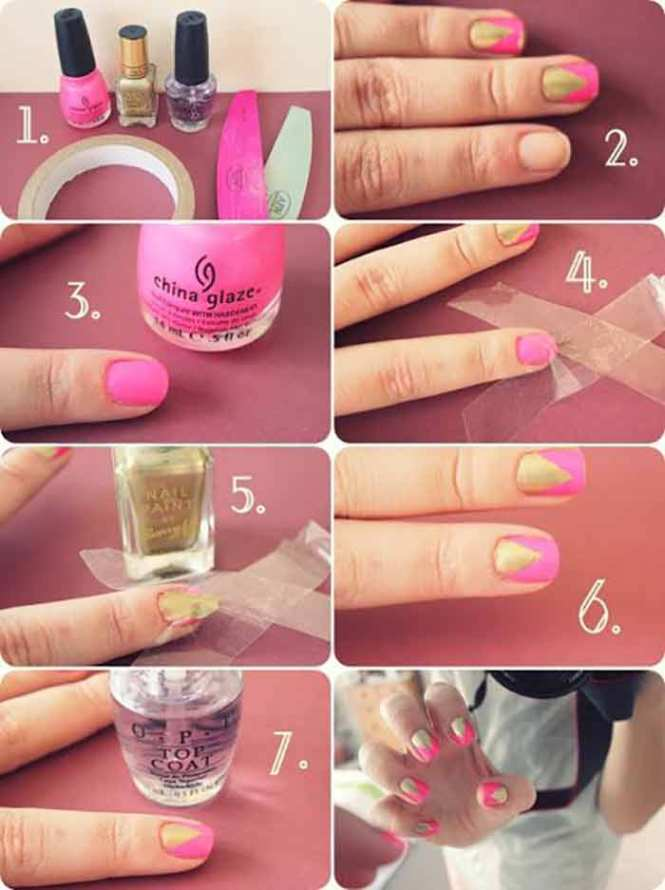 French Manicure Ombre Nail Tutorial