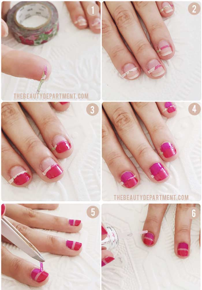 Spring Manicure Cute Nail Design For Short Nails