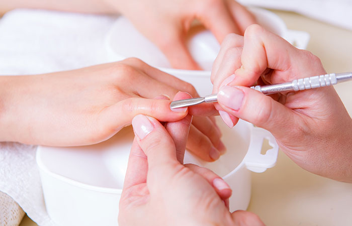 How To Apply Acrylic Nails Step 1 Prep The
