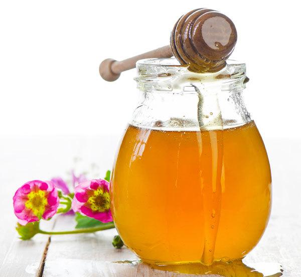 Bees honey for eyes