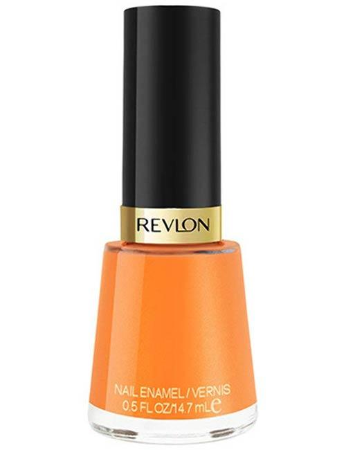 Neon Orange Shellac