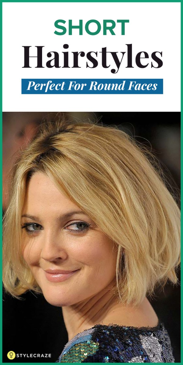 30 Easy To Style Short Hairstyles Round Face Hairstyles Ideas