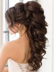 ponytail hairstyles wedding