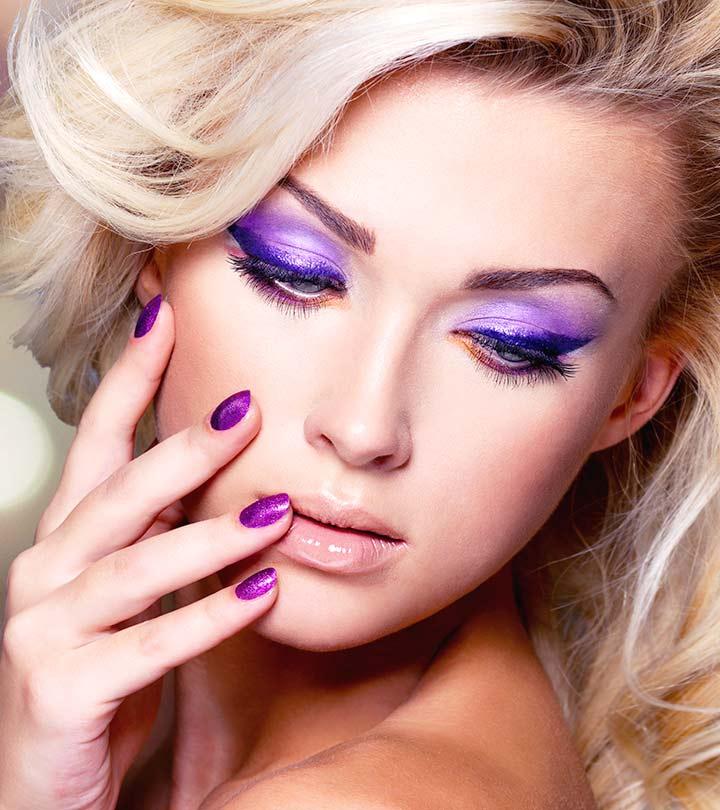 2 Simple Purple Eye Makeup Ideas