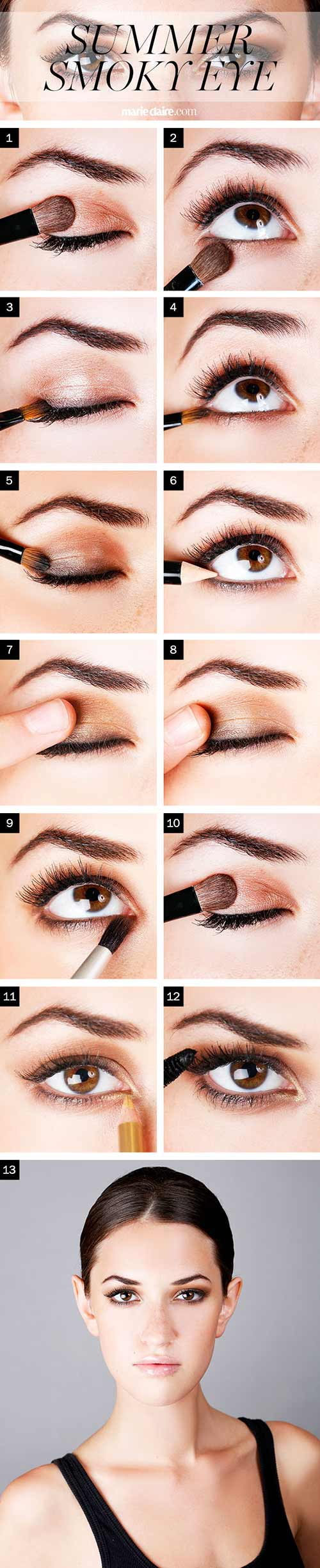 how to do smokey eye makeup? - top 10 tutorial pictures for 2019
