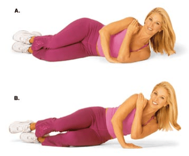 Image result for One-Arm Side Push-Up