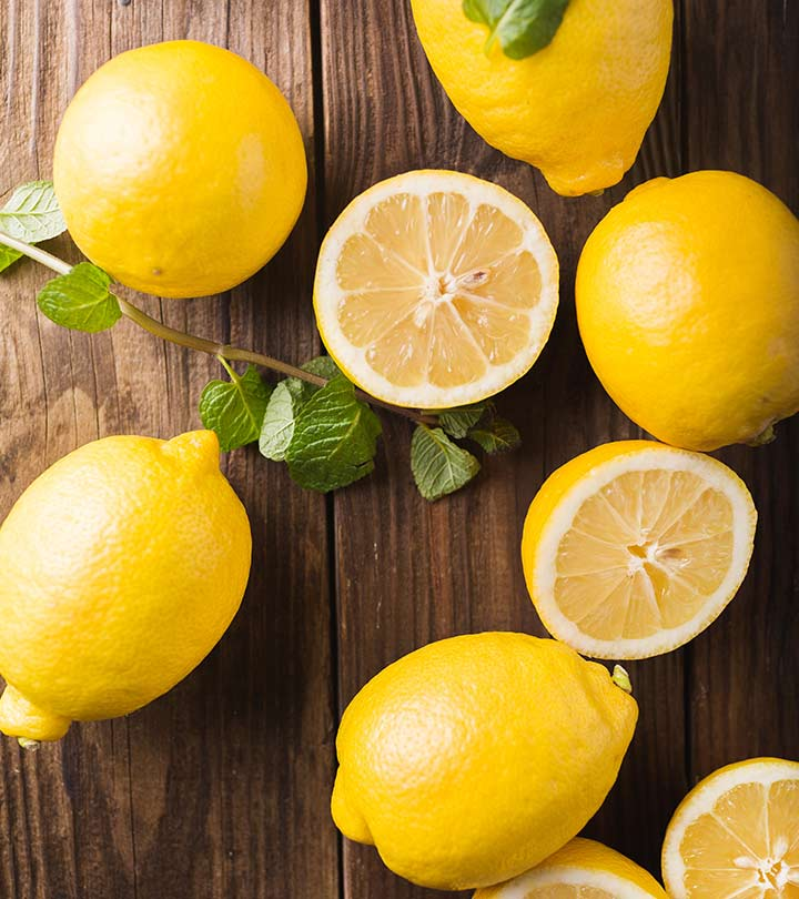 13 Research Based Health Benefits Of Lemons