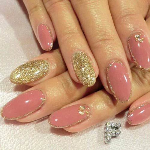 Beautiful 3d Nail Art Tutorials 5 Pink And Gold