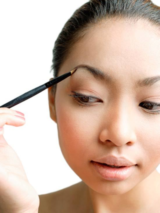 tips for thick eyebrows