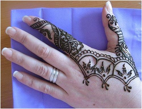 Mehandi Designs Easy And Beautiful Images