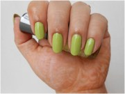 fun green nail art design
