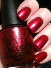 red nail polishes - top