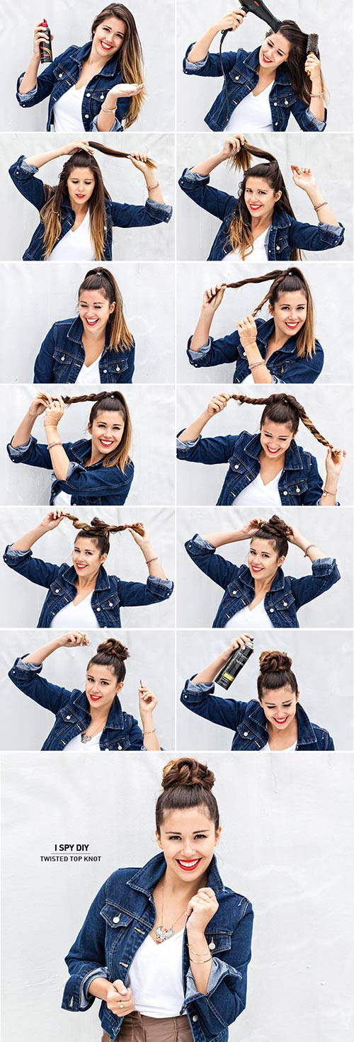 20. Twisted Top Knot