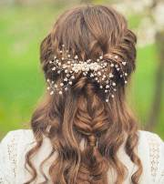 curly hairstyles wedding reception