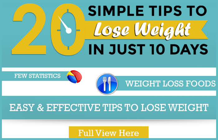 lose weight in just