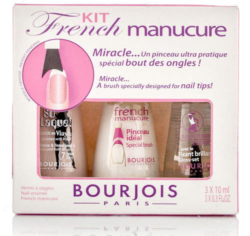 Bourjois French Nail Art Kit How To Do The Manicure At Home