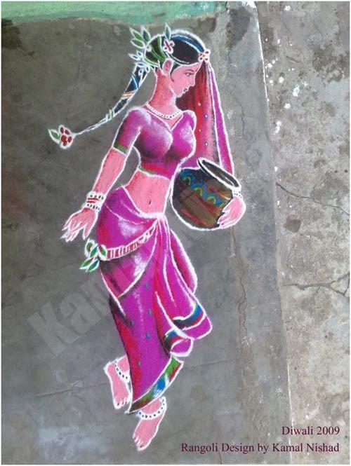 rangoli artists