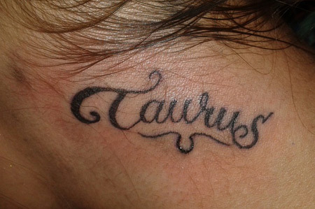 Taurus And Scorpio Tattoo Ideas