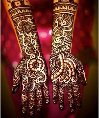 Bangle Mehndi Design 2015