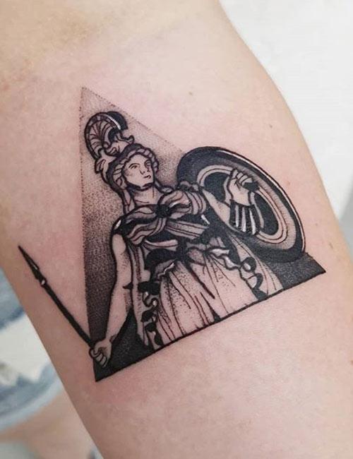 Greek Gods Tattoo : greek, tattoo, Mythological, Greek, Tattoos, Meanings, Behind