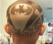 intricate hair tattoo design