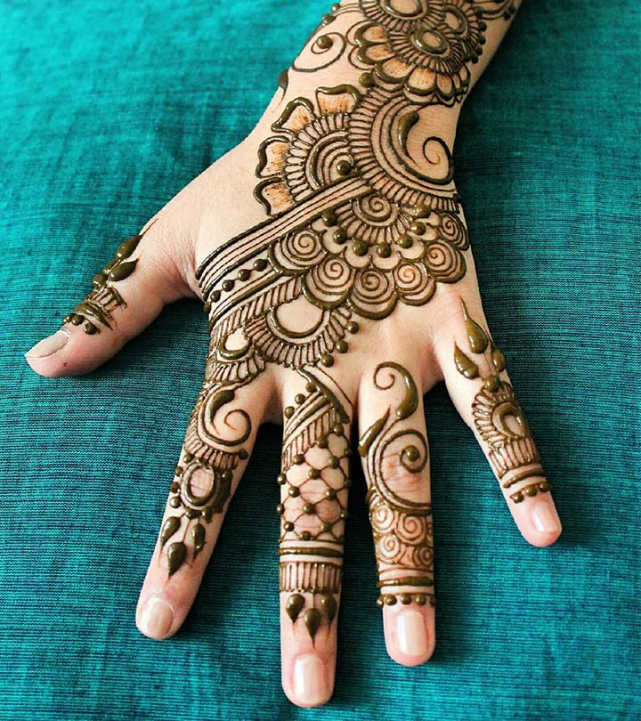 Simple Arabic Mehndi Designs For Back Hands 2017