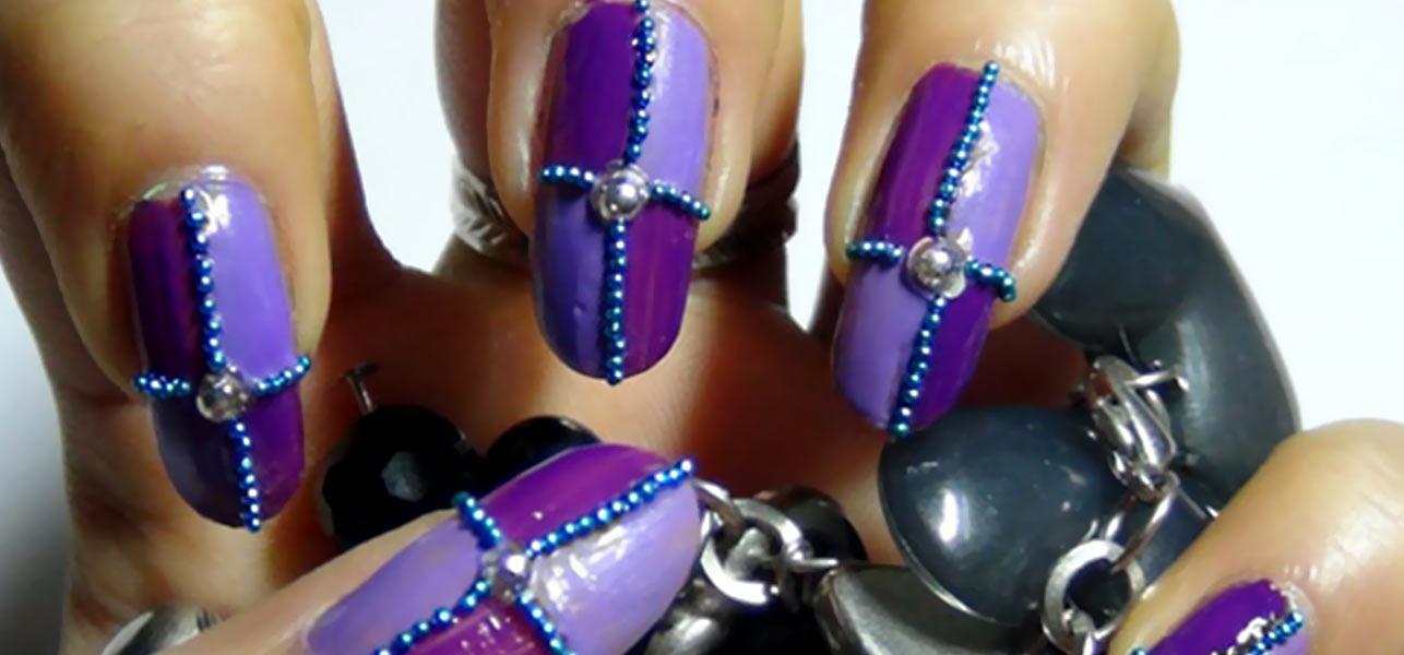 October 7 2017 Inin In Featured Image Profile Photo Of Zinnia 2 Stunning Purple Nail Art Design Tutorials
