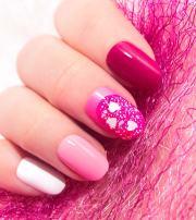 cute pink nail art design tutorials