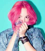 pink hair colour products