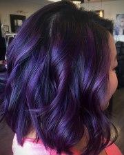 plum hair color ideas women