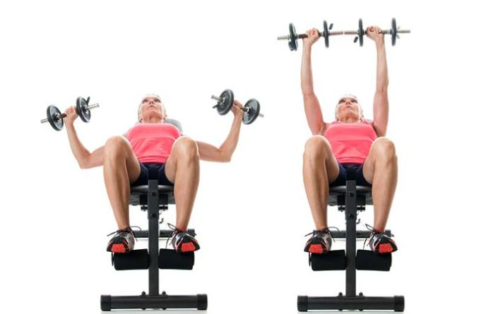 Incline Dumbbell Press