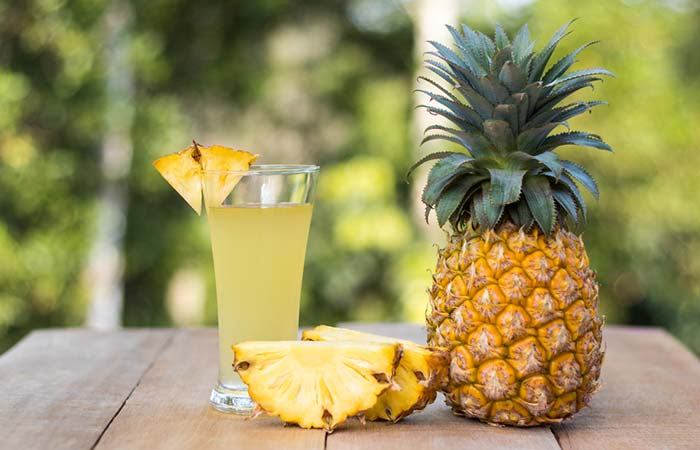 How To Stop Post Nasal Drip - Pineapple Juice