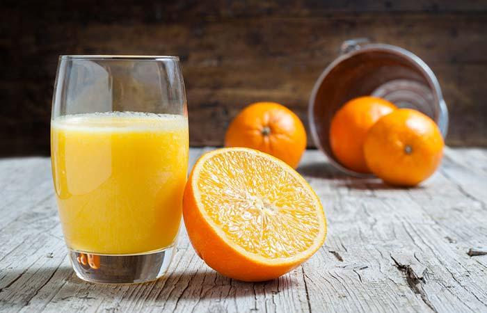 How To Stop Post Nasal Drip - Orange Juice