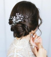 gorgeous wedding updos short