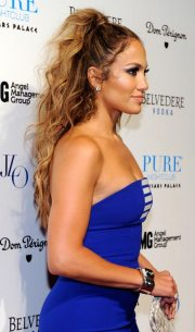 beautiful updos long curly