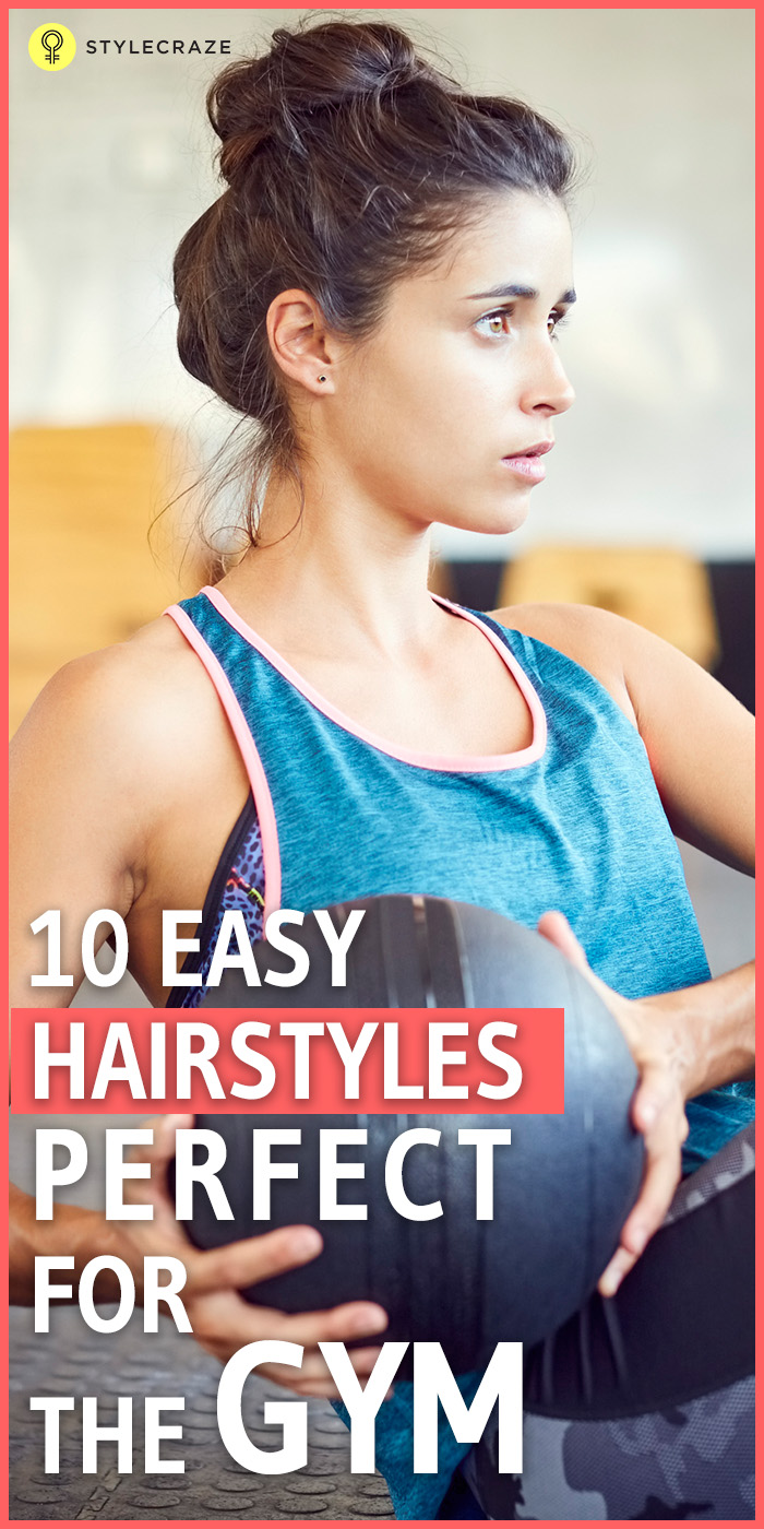10 Sporty Gym Hairstyles For Short Hair